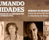 """Acto: """"Exhumando dignidades: el cómo y el porqué de la exhumación de fosas"""""""