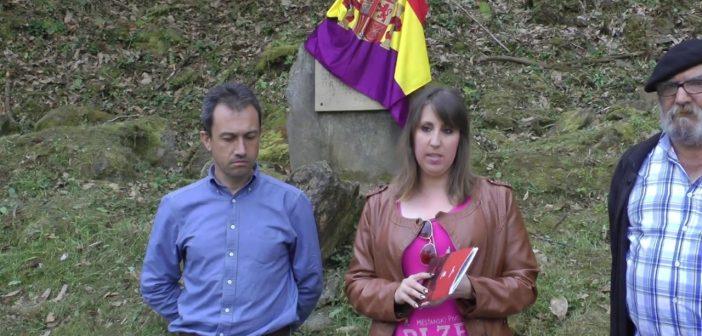 Homenaje a las víctimas del franquismo en Pravia 2017