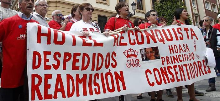 Celebramos la sentencia del TSJA que declara nulo el despido de Raquel Agüeros